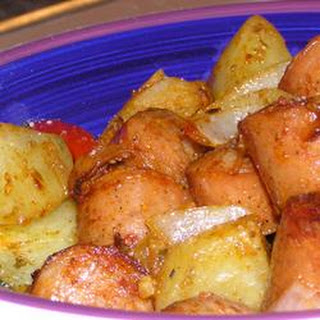 Roasted Creole Potatoes.