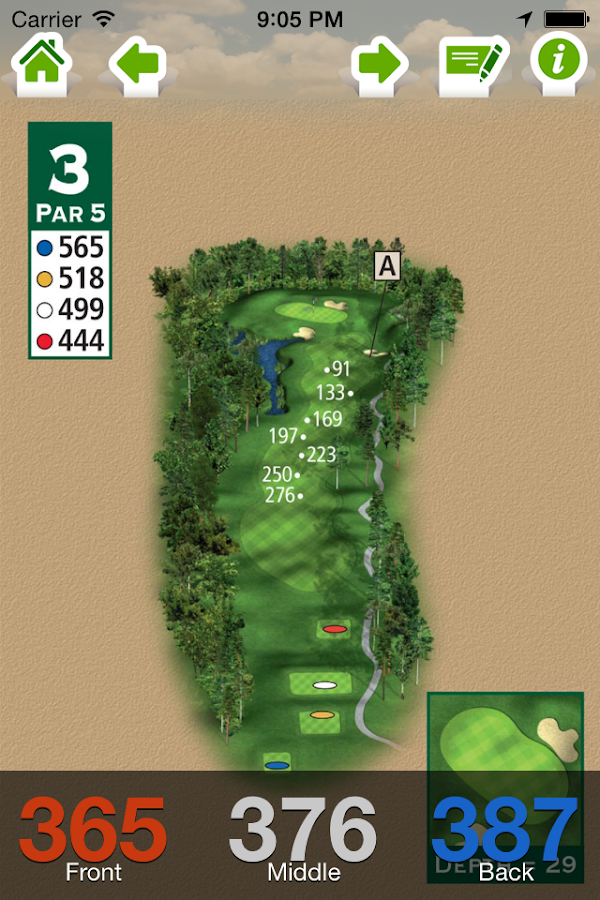 Woodforest Golf Club- screenshot