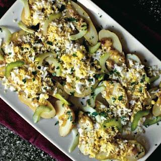 Smitten Kitchen's Fingerlings Vinaigrette with Sieved Eggs and Pickled Celery