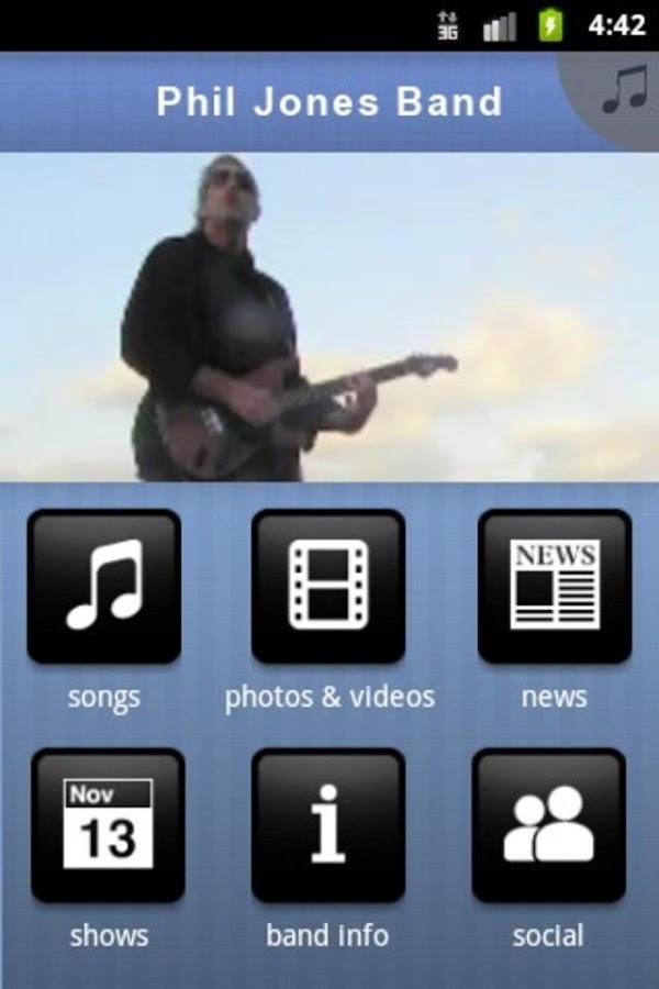 Phil Jones Band- screenshot