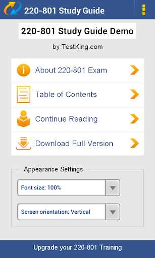 A+ 220-801 Study Guide Demo