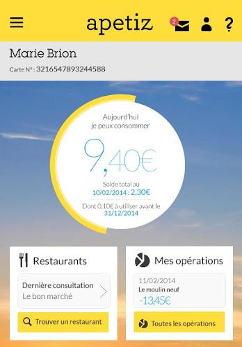 Apetiz Android App Screenshot