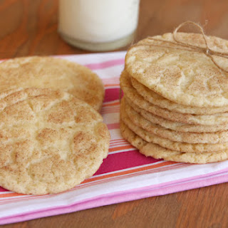 Soft and Chewy Snickerdoodles.