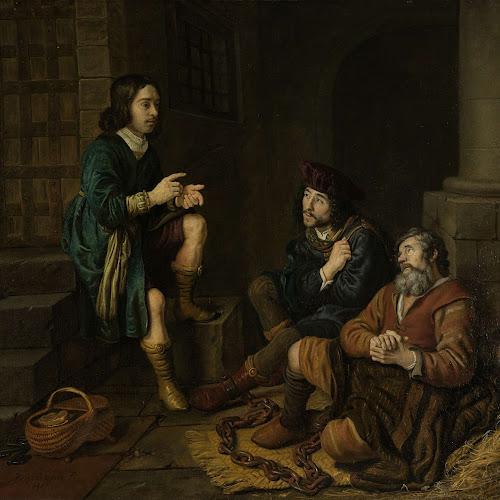 Joseph Interprets The Dreams Of Baker And Butler Jan Victors 1648