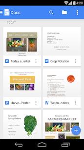 Google Docs Mod 1.18.502.01 Apk [Unlocked] 1