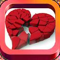 Sad Love and Heartbreak Quotes icon