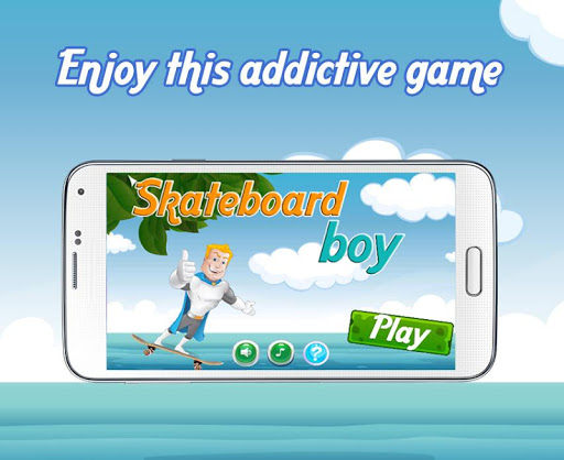 スケートボード少年 - ゲーム