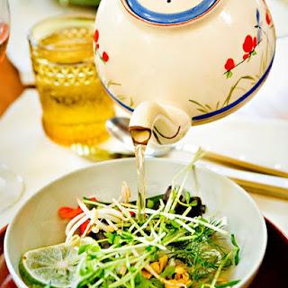 Vietnamese Soup in a Teapot