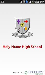 Holy Name High School, Colaba screenshot