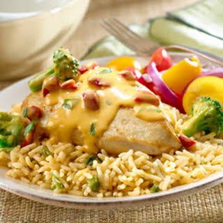 Cheddar Chicken & Broccoli With Rice.