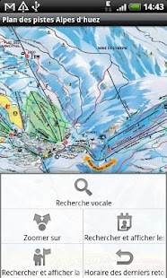 Map of Alpe d'Huez pist