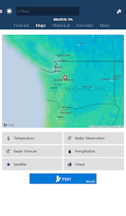 MSN Weather – Forecast & Maps 11