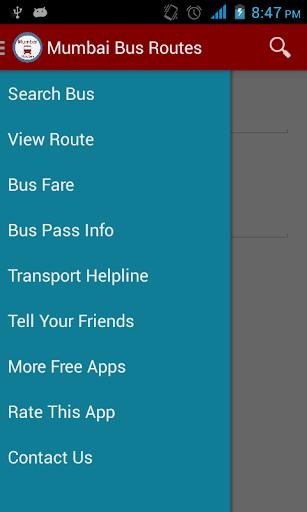 Mumbai Bus Routes