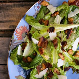 Jerk Bacon Caesar Salad