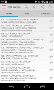 Bus Timetable - EMTU - náhled