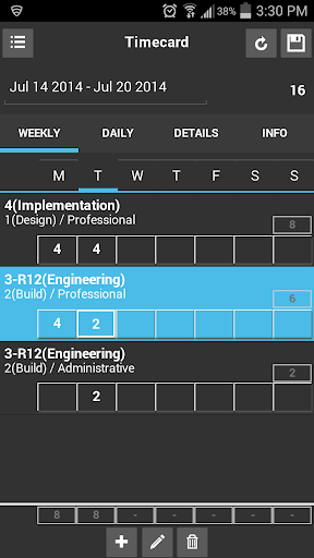 mProjects Time Management