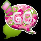 GO SMS THEME/GirlyShapes