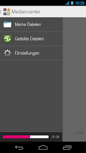 Mediencenter - Telekom Cloud - screenshot thumbnail