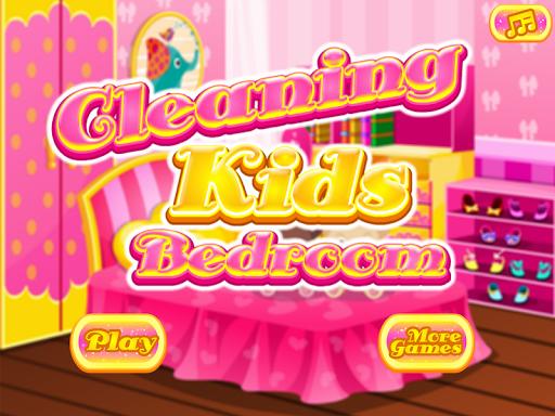 孩子們的臥室清潔遊戲