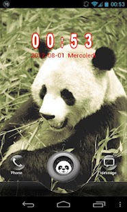 Panda GO Locker Theme - screenshot thumbnail