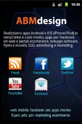 ABMdesign APP - screenshot