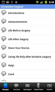 Weight Loss Surgery Forum- screenshot thumbnail