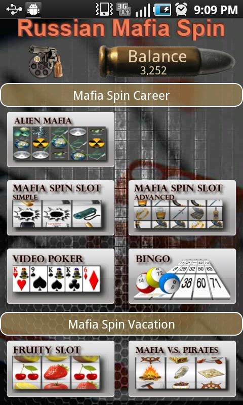 Alien MafiaSpin Slot - screenshot
