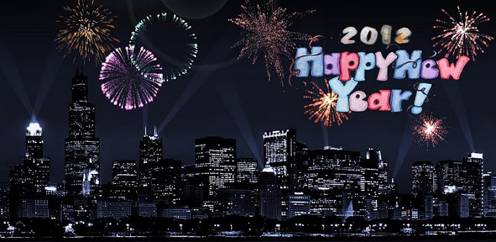 2012 New Year Countdown LWP