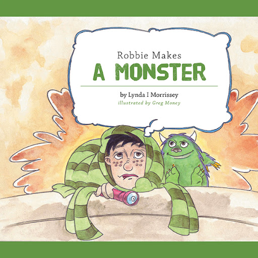Robbie Makes a Monster cover