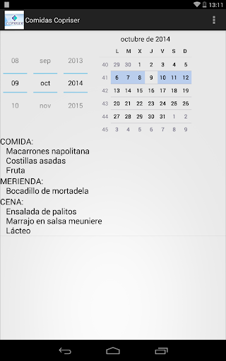 玩工具App|Comidas Copriser免費|APP試玩