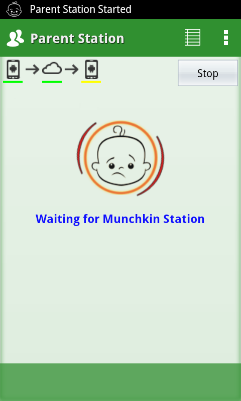 munchkin monitor baby monitor android apps on google play. Black Bedroom Furniture Sets. Home Design Ideas