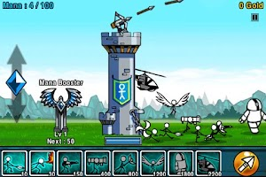 Screenshot of Cartoon Wars