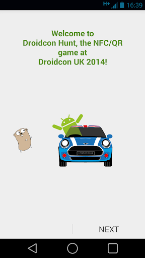 Droidcon UK 2014 Treasure Hunt