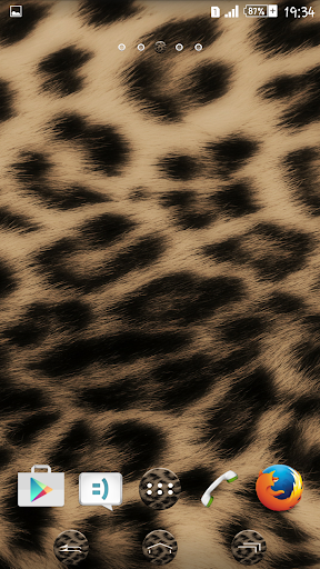Theme eXPERIAnce Leopard Skin