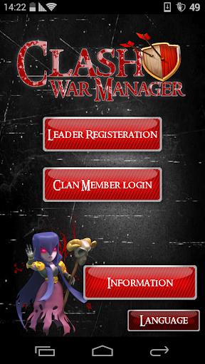 Clash War Manager