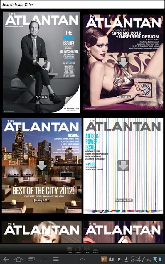 Atlantan - screenshot