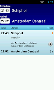 NL Train Navigator - screenshot thumbnail