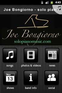 Joe Bongiorno - solo piano - screenshot thumbnail