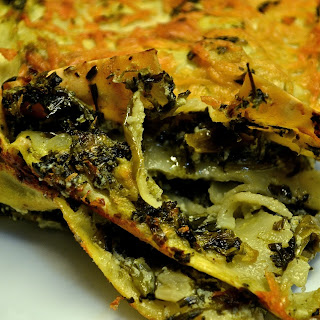 Spinach Ricotta Lasagna.