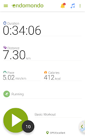 Endomondo Running Cycling Walk Screenshot 3