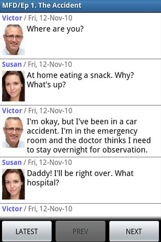 Messaging Family Drama- screenshot