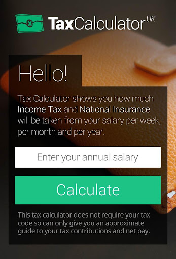 Tax Calculator UK