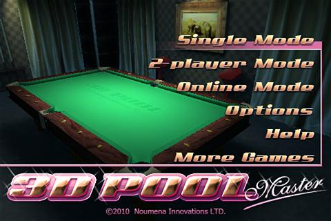 3D Pool Master Pro - screenshot