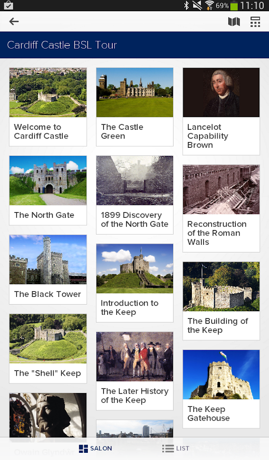 Cardiff Castle - BSL Tour- screenshot