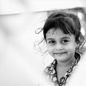 SO Cute Girl by TANVEER Ali - Babies & Children Child Portraits