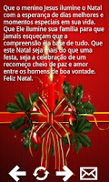 Screenshot of Frases de Natal e Ano Novo