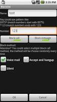 Screenshot of Blacklist