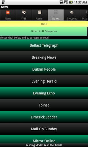 【免費新聞App】Irish News-APP點子