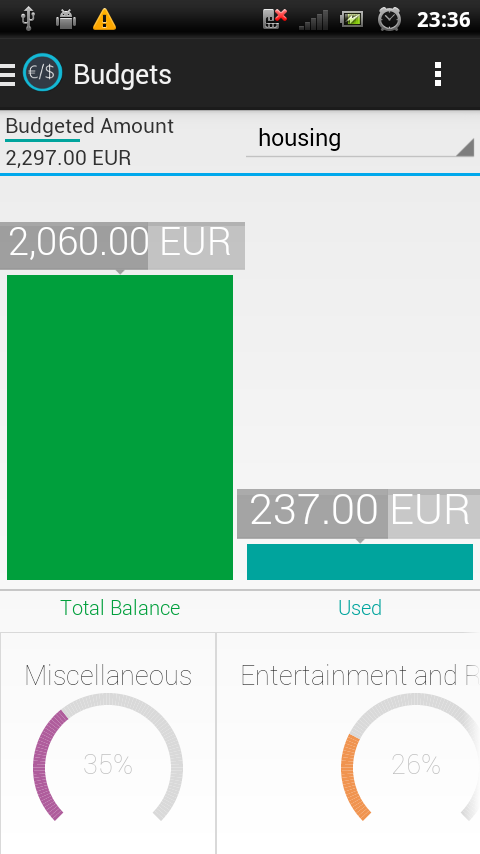 Expense Manager App - screenshot