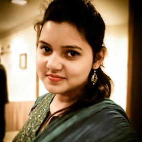 by Projit Roy Chowdhury - People Portraits of Women